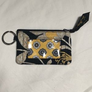 Black and yellow Vera Bradley wallet